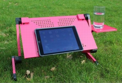 Multifunctionele Laptop Standaard - Roze