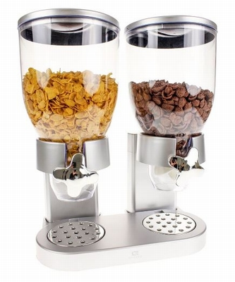 Cornflakes Dispenser - Zilver