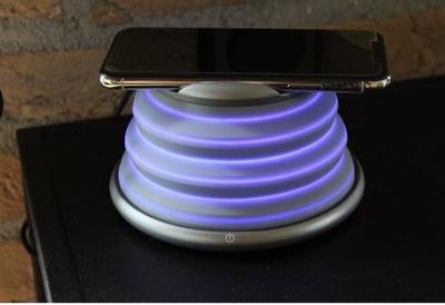 Draadloze Oplader - Met LED sfeerverlichting