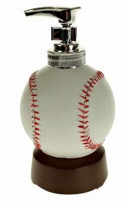 Honkbal zeepdispenser met Geluid