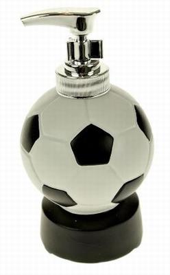 Voetbal zeepdispenser met Geluid