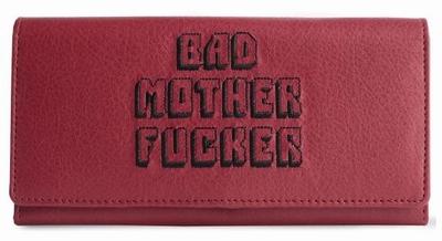 Bad Mother Fucker Dames Portemonnee - Kersenrood