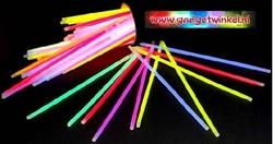 Assorti Glowsticks 200 x 5 mm (per 100 stuks)