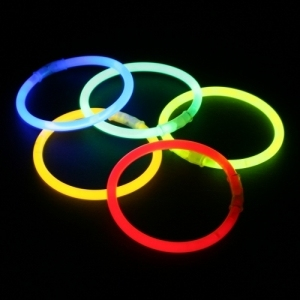 Assorti Glowsticks 200 x 5 mm (per 100 stuks)