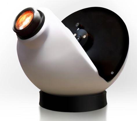 Aura led projector met Oliewiel Rood/Violet