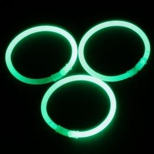 Groene Glowsticks 200 x 5 mm (per 100 stuks)