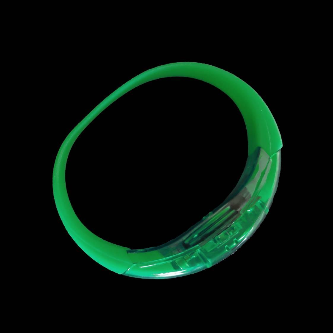 Led armband Groen (reageert op geluid)