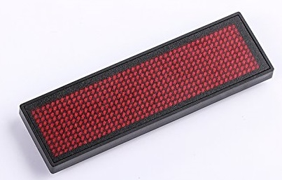 LED Badge Rood Voordeel Pakket