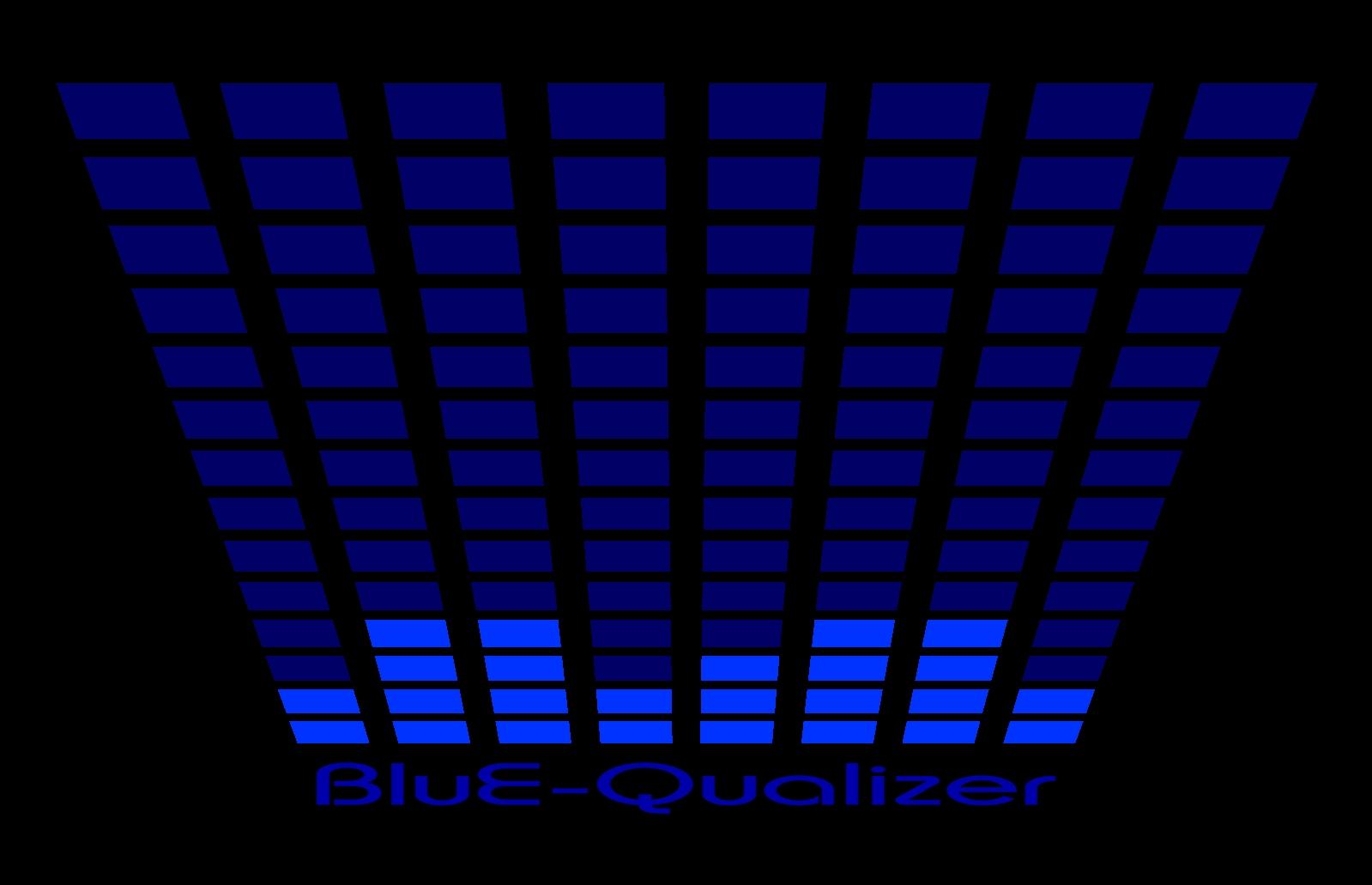 Led T-Shirt Equalizer Blauw