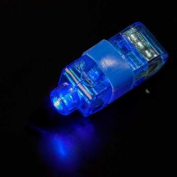 Vingerlichtje Blauw