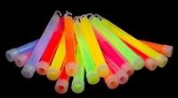 Glowstick 15 x 1 cm Assorti voordeel Pack (25 stuks)