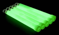Glowstick 15 x 1 cm Groen (25 stuks)
