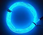 EL Draad Blauw 2 meter