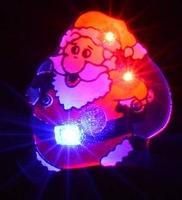 Kerst Blinkie Rennende kerstman