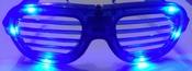 LED Shutter Bril Multicolour