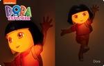 3D Led Lamp Dora