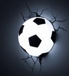 3D Led Lamp Voetbal