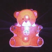Led Blinkie Teddy Beer