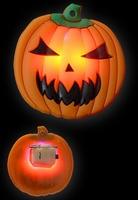 Halloween Blinkie Pompoen
