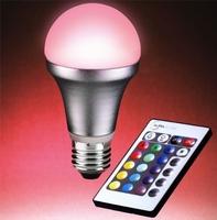 Auraglow E27 led lamp met afstandsbediening