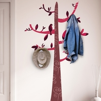 Colourful Pattern Tree wit Hooks