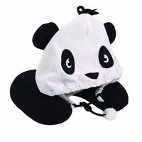 Nek kussen Panda met kap