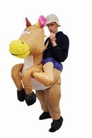 Opblaasbare Cowboy Kostuum