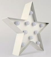 Carnival LED Light Star - White