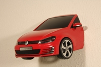 VW Golf GTI 3D LED Lamp