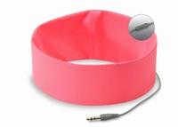 Bed Hoofd telefoon met Microfoon Roze
