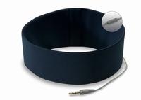 Bed Hoofd telefoon met Microfoon Blauw