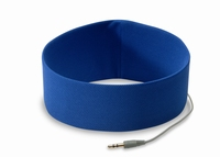 Sport Hoofd telefoon Blauw S