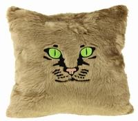 Katten Kussen Taupe