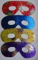 Set van 4 papieren oogmaskers (set 1)