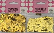 Gouden Metallic Confetti (2 zakjes)