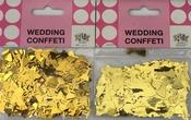 Gouden Metallic Confetti (3 zakjes)