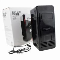 USB Bureau Koelkast Zwart