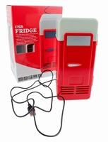 USB Bureau Koelkast Rood