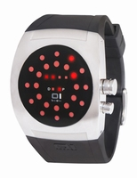 Screw Me LED Horloge Rood