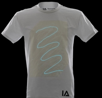 Wit Glow Shirt Aqua Blue (L)