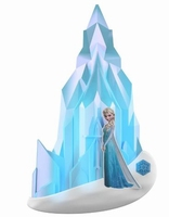 3D LED Wandlamp Disney - Frozen Elsa