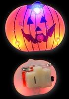 Halloween Blinkie Pompoen 2