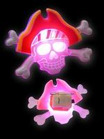 Halloween Blinkie Doodskop Kapitein