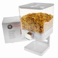 Luxe Enkelvoudige Cornflakes Dispenser - Wit