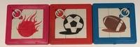Schuifpuzzel Sport design (prijs per 3 stuks)