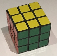 Mini Draai Kubus 3,2 x 3,2 cm (prijs per 2 stuks)