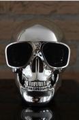 Skull Draadloze Bluetooth Speaker - Zilver