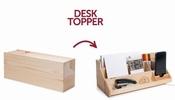 Wijn box en bureau-organizer