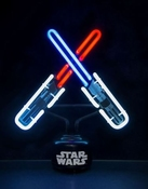 Star Wars Lichtzwaarden Clash Neon Lamp