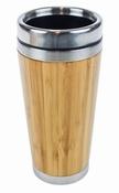 Bamboo Dubbelwandige Eco Reisbeker - 450 ml